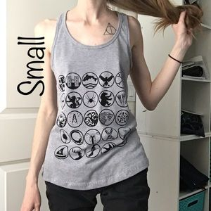 Tops - 🎨🐾 Handmade Listing! Game of Thrones Womens Tank